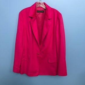 Dana Buchman Pink Cashmere Blazer